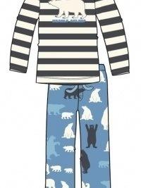 Pijama Little Blue House mod. Polar Bear