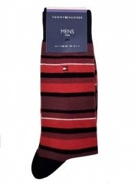 2 Pack Calcetines Tommy Hilfiger Rojo