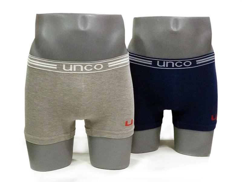 Pack 2 Boxers UNCO sin costuras en algodón GM