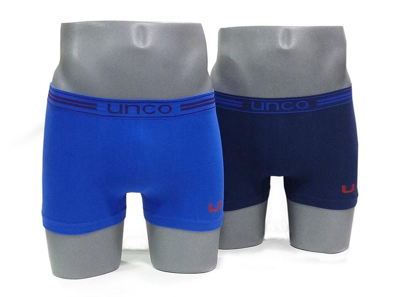 Pack 2 Boxers UNCO sin costuras en algodón AM