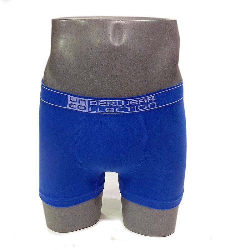 Boxer sin costuras UNCO en azul eléctrico
