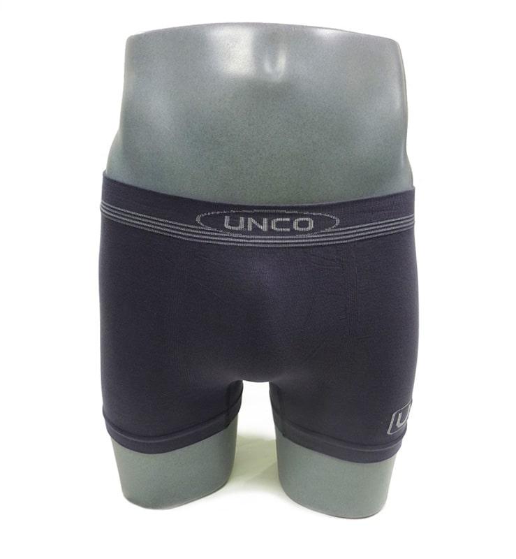 Calzoncillos Boxer sin costuras UNCO en gris