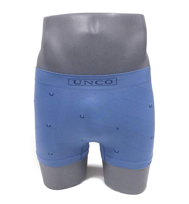 Calzoncillo sin costuras UNCO en azul claro