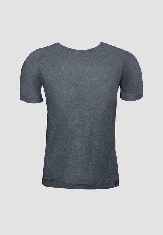 Camiseta ZD Cuello Redondo Grafito