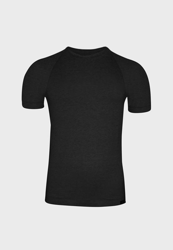 Camiseta ZD Cuello Redondo negro